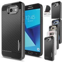 For Samsung Galaxy J7 Prime/J7 Sky Pro/J7 V/J7 2017 Case +Glass Screen Protector