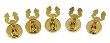 4031804 ROJ Royal Order of Jesters Button Covers Biliken Billiken Jester Tuxedo