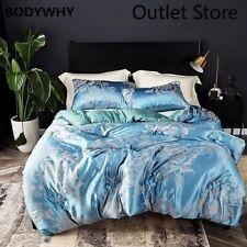 Jacquard Comforter Thicken Velvet Quilt Bedding Printed Luxury Duvet Twin Full