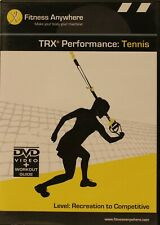 Fitness Anywhere Trx Performance Tennis Recreation Competitive Workout Dvd