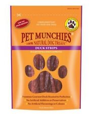 Pet Munchies Duck Strips from Finest Duck Breast Meat ~ 12 x Packs (90g/Pack)