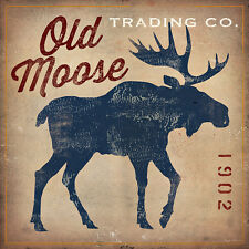Old Moose Trading Co.Tan ists Art Poster Print by Ryan Fowler, 18x18