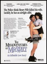 The MISADVENTURES of MR. WILT__Original 1991 Trade AD promo__MEL SMITH__sex doll