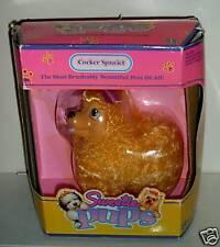 #4698 NIB Vintage Hasbro Sweetie Pups Cocker Spaniel Dog