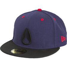 Nixon Deep Down Ii NE Hat (Navy/Black/Red) 7 1/4 C3381133-72