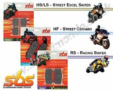 SBS rear brake pads Sintered for Ducati Multistrada 1200 10-14 inc S & ABS 730LS