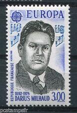 FRANCE 1985, timbre 2367, EUROPA, DARIUS MILHAUD, MUSIQUE, neuf**