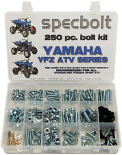 250pc Bolt Kit Yamaha YFZ450 YFZ 450 ATV plastic body fenders engine frame pipe