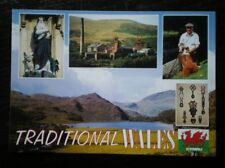 POSTCARD B45-14 TRADITIONAL WALES - MULTI VIEW