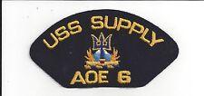 PATCH  NAVY USN USS SUPPLY AOE 6