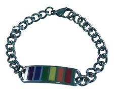 Joyería de color principal multicolor de acero inoxidable para hombre