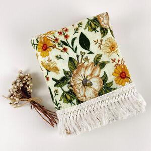 Baby Boho Fringe Wrap - Organic Cotton Muslin Swaddle - Light blanket - Mustard