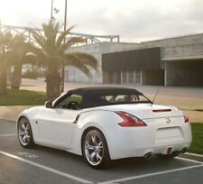 Fits: Nissan 370Z Convertible Soft Top & Heated Glass Window Black Stayfast