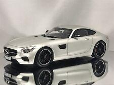 Norev Mercedes Benz AMG GT-S (C190) Coupe GTS Matt Silver Diecast Model Car 1:18