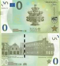 Biljet billet zero 0 Euro Memo - Royal Delft (001)