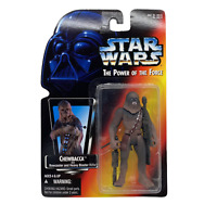 Star Wars The Power of the Force Chewbacca Bowcaster and Heavy Blaster Riffle