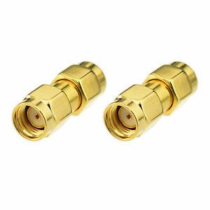 PureTek® RP-SMA Male (female pin) to RP-SMA Male (female pin) RF Adapter