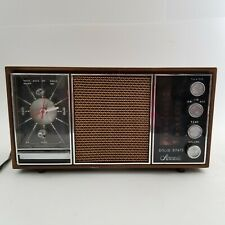 Vintage Aircastle Solid State Radio & Clock. Parts or Repair. As Is