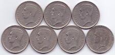 7 COINS BELGIUM 5 FRANCS- 1930, 1931 x5, 1932