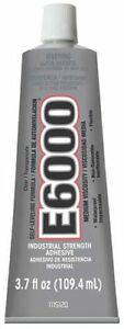 NEW GOOP 230022 E6000 FRESH 3.7OZ INDUSTRIAL STRENGTH GLUE ADHESIVE 6593412
