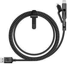 Nomad Ultra Rugged USB A Micro Lightning USB Universal Multi-tip Charging Cable
