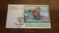 AUSTRALIAN OLYMPIC SWIMMING CHAMPION ELKA GRAHAM HAND SIGNED SYDNEY COVER