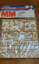 MM military miniatures 35185 Vehicle equipment set Tamiya plastic models