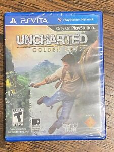 Uncharted Golden Abyss PSVita brand NEW