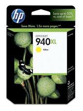 HP 940XL gelb yellow C4909A OfficeJet Office Jet Pro 8000 8500 ----- OVP 12/2015
