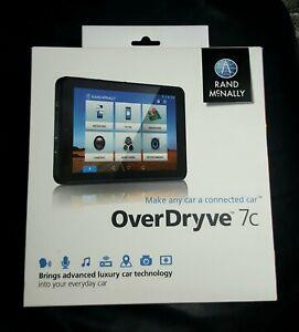 Rand Mcnally Overdryve 7c GPS navi and WiFi backup camera...New in Box!