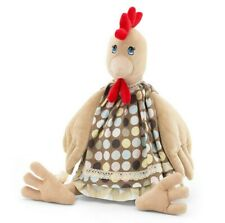 "16"" Hen Plush Toy. Chicken in a Dress Chick Stuffed Animal High Quality"