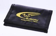 SUBARU BLACK WALLET billfold towel impreza outback forester tribeca flag