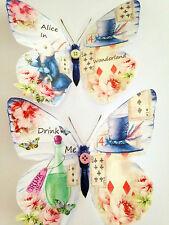 Alice in wonderland butterflies 3D stickers butterfly decoration wall decor