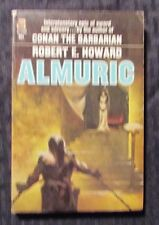 1964 ALMURIC by Robert E Howard - Ace Paperback VG/FN Conan The Barbarian
