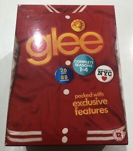 Glee - Seasons 1,23&4 DVD Box Set & Exclusive Features - Total of 26 Discs - EUC