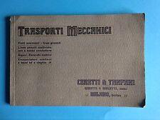 Ceretti & Tanfani, Bovisa, trasporti meccanici, ponti, gru, funicolari