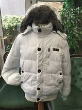 Down & Feather Padded Jacket Hooded
