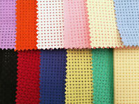 BINCA / AIDA 6 COUNT 13 COLOURS VARIOUS SIZES COTTON **10% OFF 2+**