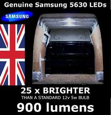 12v 15 LED Interior Van Loading Light Set eg Peugeot Bipper, 206, 207. 900 lumen