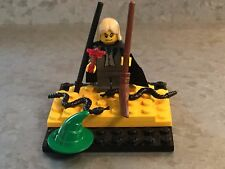 LEGO Draco Malfoy Minifigure, Snakes, Wand, Broom, Witch Hat, Harry Potter