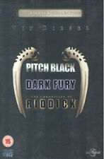 Pitch Black/Chronicles Of Riddick/Dark Fury Dvd New & Factory Sealed