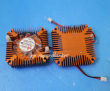 Aluminum Heatsink with fan for 5W/10W High Power LED Cooling Cooler DC12V