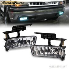 For 99-02 Chevy Silverado/ 00-06 Tahoe Suburban Fog Lights Bumper Driving Lamps