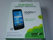 new Cricket Wireless moto E5 Cruise 4G LTE Smart Phone cell mobile smartphone