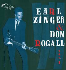 """10"""" ✦✦ EARL ZINGER & DON ROGALL ✦✦ Vol.1"""