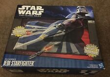 Star Wars The Clone Wars Plo Koon's Jedi Starfighter