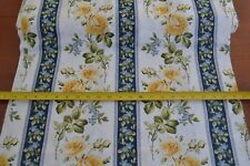 By 1/2 Yd,Floral on White Quilting Cotton, Maywood/Wild Rose/Michell/8711-W B586