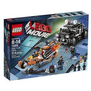 LEGO The Lego Movie Super Cycle Chase 70808 Emmet Wyldstyle 514 PCS RETIRED