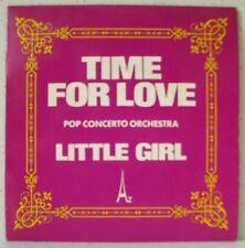 "POP CONCERTO ORCHESTRA Time for love (LISTEN) 7"" 1972 AZ FRANCE orch pop"