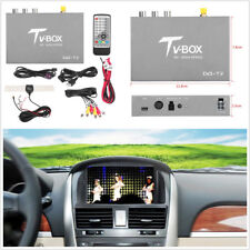 Car HD DVBT2 Mobile Digital TV Box Receiver Analog Tuner Antenna 12-24V PAL/NTSC